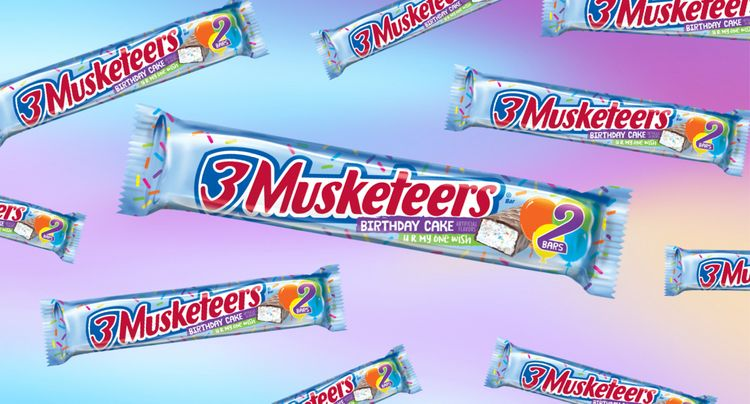 3 Musketeers Launched a Funfetti-Inspired Candy Bar