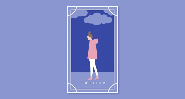 Card Three: Three of Air