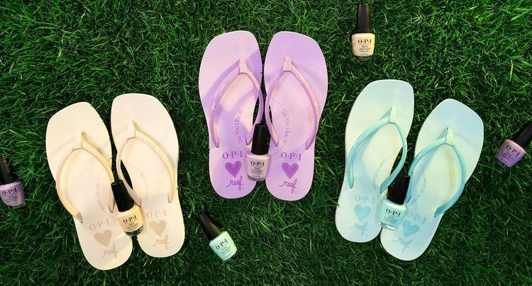 Reef x OPI Collab is What Pedicure Dreams Are Made Of
