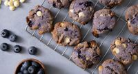 As Seen On Tiktok: Blueberry White Chocolate Cookies Recipe