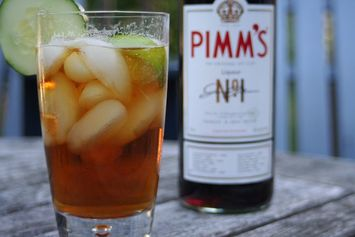 I Need a Cocktail: Pimm's Cup