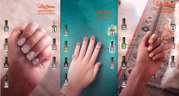 Sally Hansen and Snapchat Launch AR Nail Polish Try-on Lens