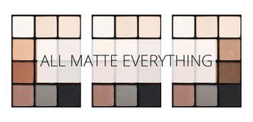 Top 5 Matte Eyeshadows