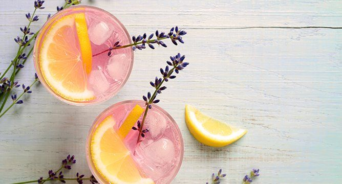 5 Flower Cocktail Recipes for Spring