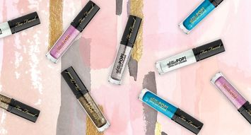 Too Faced's New Eyeliner Takes Your Glitter Obsession to the Next Level