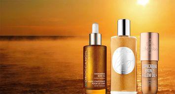 10+ Shimmer Body Oils for Summer Shine