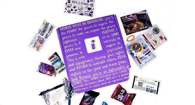 Everything Inside the Back 2 School VoxBox for Influenster Moms