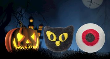 LUSH's New Bath Bombs are a Halloween Must