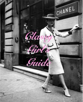 Classy Girl's Guide: Being Selfish