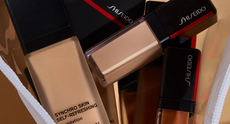 SHISEIDO Makeup is Launching Their Synchro Self Refreshing Collection