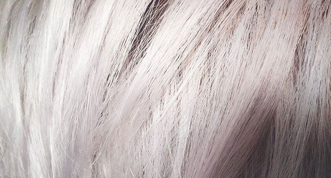 We Tried It: Going Platinum Blonde At Home