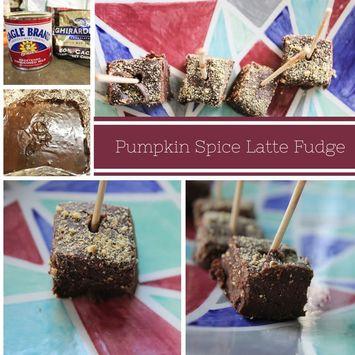 Pumpkin Spice Latte Fudge