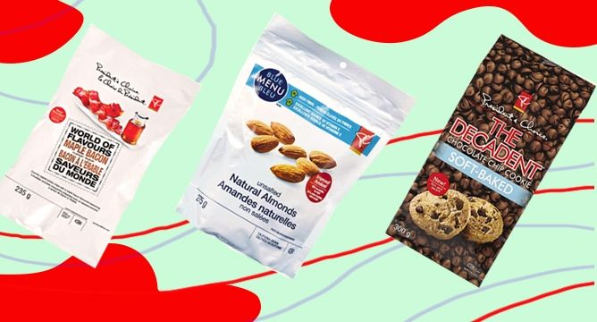 <p>Looking for an afternoon snack at your desk, a quick energy boost on your way to the gym, or a way to indulge your evening sweet tooth? Canadian favorite President's Choice has got you covered, and we've rounded up our top favourite snacksthat we can't get enough of!</p>