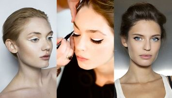 Our 5 Favorite Ways to Use White Eyeliner