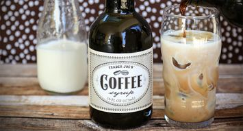 Trader Joe's Coffee Syrup Will Blow Your Mind