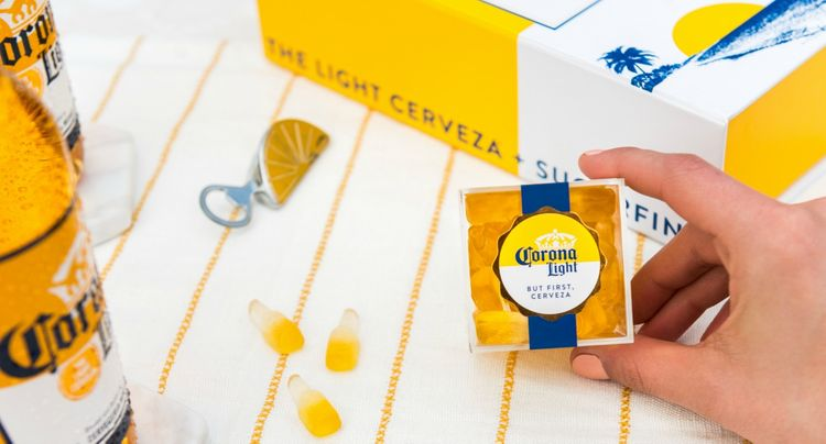 Sugarfina + Corona is the Candy Combo You Never Knew You Wanted