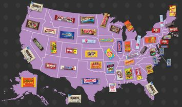 Which States Drive the Most Reviews for Your Favorite Halloween Candy?