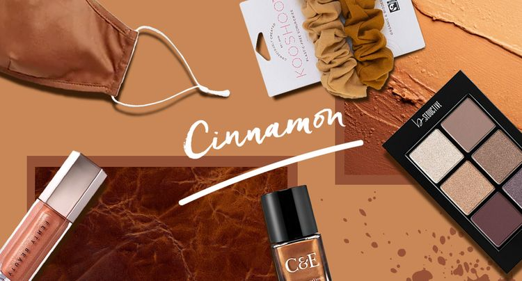 It's Official, Cinnamon is Your Top Color Pick for Fall 2020