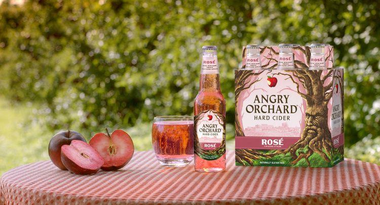 Hard Cider Gets the Rosé Treatment