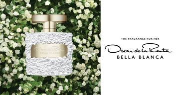 Oscar de la Renta's Bella Blanca is Pure Elegance in a Bottle