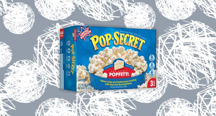 Funfetti Popcorn is the Best Birthday Gift We Can Imagine