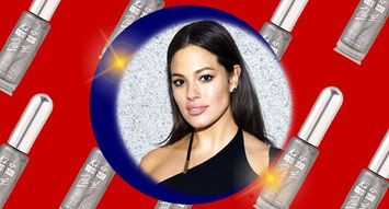 You Can Easily Recreate Ashley Graham's Sparkling Manicure