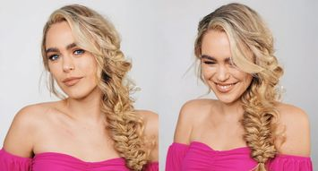2 DIY Hairstyles for Long Hair, from Jenny Strebe