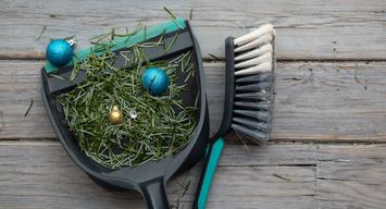 The Three R's to a Sustainable Holiday Cleanup: Reduce, Reuse and Recycle