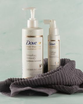 Hair Breakage Got You Down? Dove's Breakage Remedy Collection is Here To Cheer You Up
