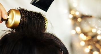 How to Get a Salon-Worthy Blowout At Home for the Holidays