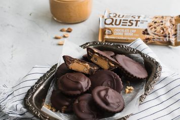Recipe: 4-Ingredient Protein Peanut Butter Cookie Dough Cups