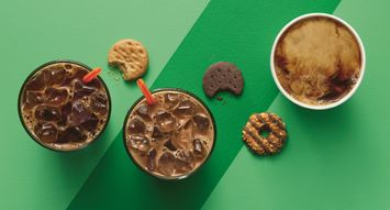 Dunkin' Donuts is Launching Girl Scout Cookie-Flavored Coffees