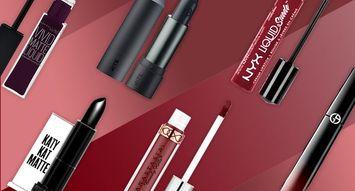 Get the Look: Daring Dark Lips