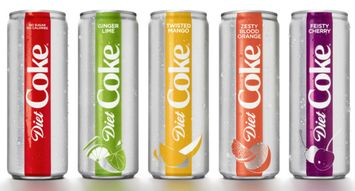 Diet Coke Will Now Come in Four New Flavors