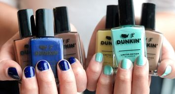 Dunkin' Just Launched a Nail Polish Collection
