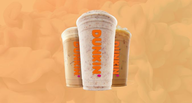 Dunkin' is Launching Three Candy-Inspired Drinks