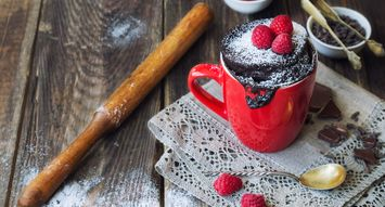 In the Mood for Something Sweet? Here's How to Make a Mug Cake from Scratch or a Mix