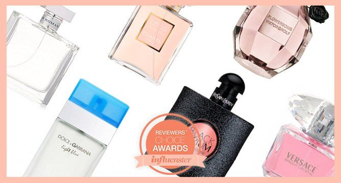 """<p>The second annual Reviewers' Choice awards have begun and it's all about you, Influenster! Cast your <a href=""""https://www.influenster.com/awards"""" target=""""_blank"""">vote</a> to help us crown the best products in makeup, skincare, hair care, and spa.</p> <p>Finding your signature scent is challenging, but Influensters know which perfumes are worth the spritz. Scroll through to find out which fragrancesInfluenster women rank highest in the land. Did your favemake the list?</p>"""