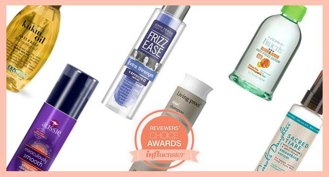 """<p>There are only a few days left to vote for your favorite products in the Influenster Reviewer's Choice Beauty Awards. Over 50K Influensters have voted thus far and we want to hear from you! <a href=""""https://www.influenster.com/awards"""" target=""""_blank""""><strong>Vote now!</strong></a></p> <p>Whether it's dry winter air or sticky summer humidity, frizz is a beast we all have to battle. These awesome frizz-fighters make it easy. Influenstersnominated these six products out of thousands, click through to find out why they made the cut.</p>"""