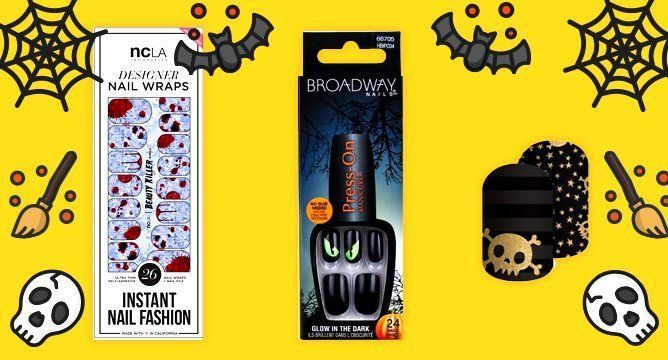 3 Simple Halloween Nails That Have Nothing to Do With Pumpkins