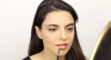 How to Create Lip Art With Smashbox's New Be Legendary Liquid Metals and Pigments