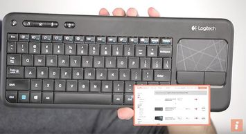 One-Minute Review: Logitech K400 Wireless Keyboard