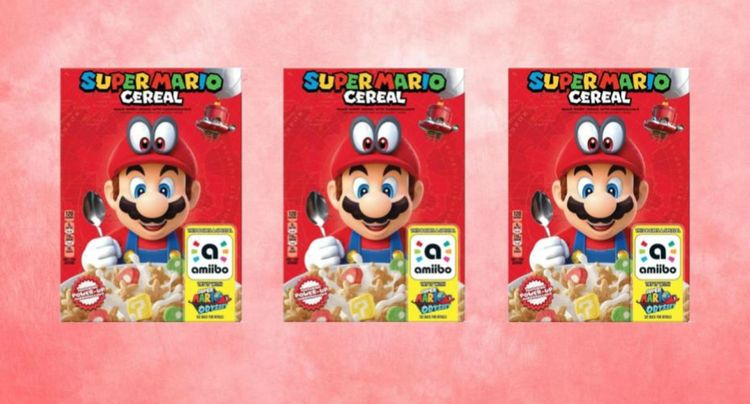 Fun Fact: Super Mario Cereal Exists