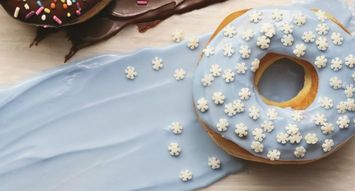 Dunkin' Donuts Launched a Blizzard-Inspired Donut