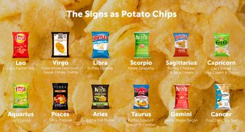 See Every Star Sign Based on Influenster Favorite Chips
