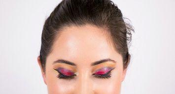 15-Minute Halloween Eye Makeup: Pokemon