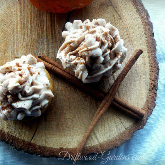 Treat Yourself: Pumpkin Spice Cupcakes (with Maple Cinnamon Frosting!)
