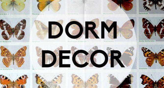 Dorm Decor: Wall Art 101