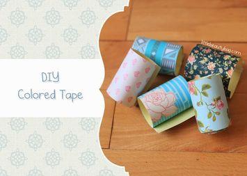 DIY: Washi Tape