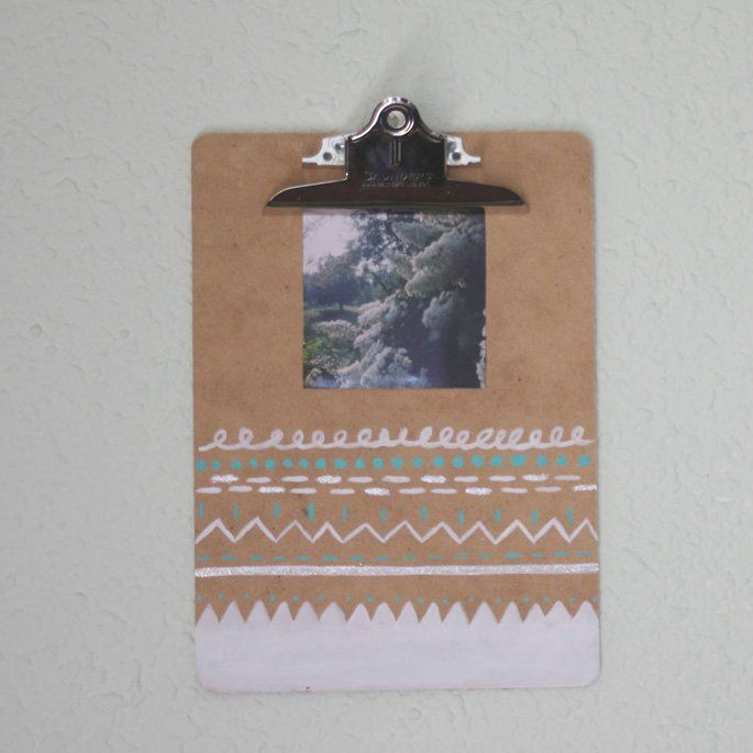 Holiday Gift Ideas: Clipboard Photo Frame